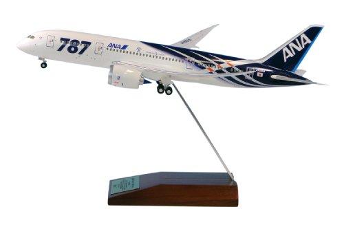 RoomClip商品情報 - 全日空商事 1/200 787-8 JA801A 特別塗装機 主翼 空中姿勢