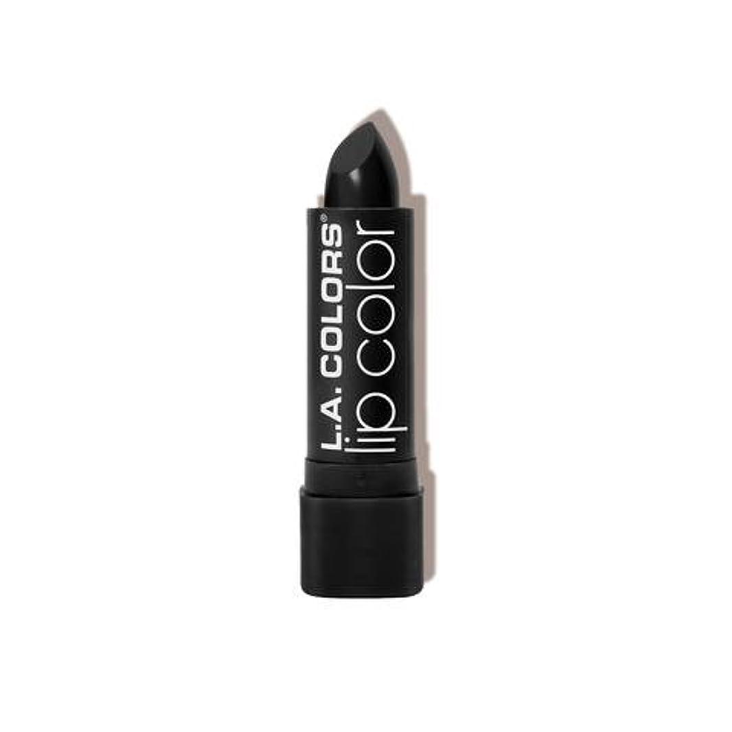 地中海流産まさにL.A. COLORS Moisture Rich Lip Color - Black Velvet (並行輸入品)
