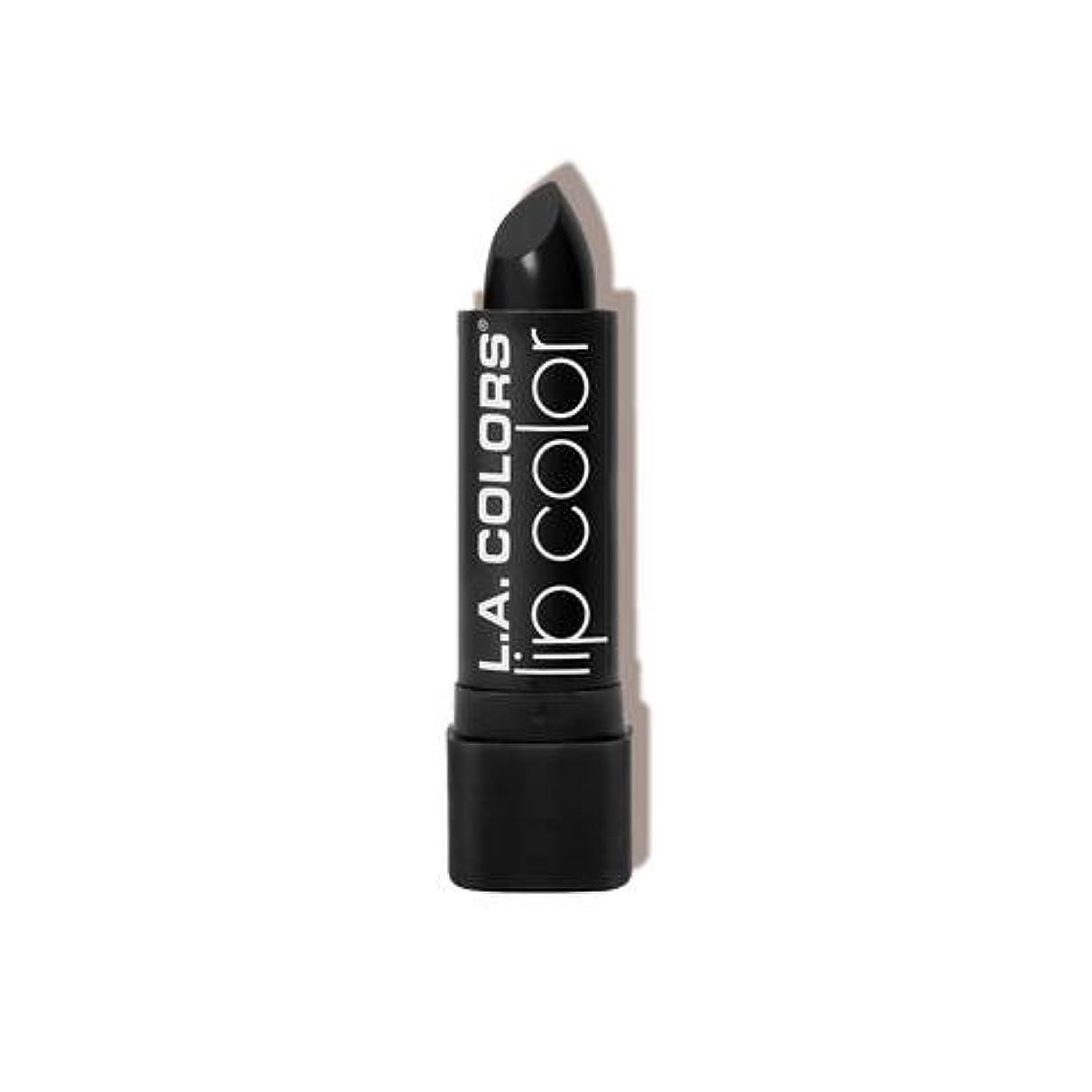 ハンディキャップ商業のエキスパートL.A. COLORS Moisture Rich Lip Color - Black Velvet (並行輸入品)