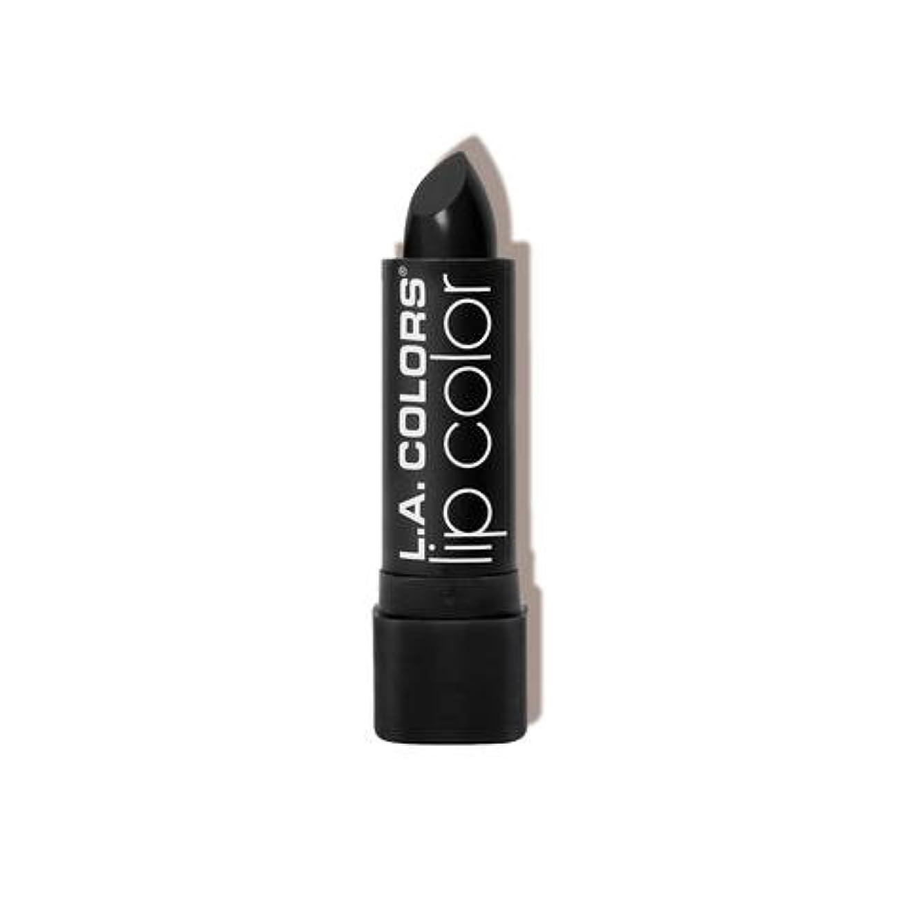高層ビルほんの粘液L.A. COLORS Moisture Rich Lip Color - Black Velvet (並行輸入品)