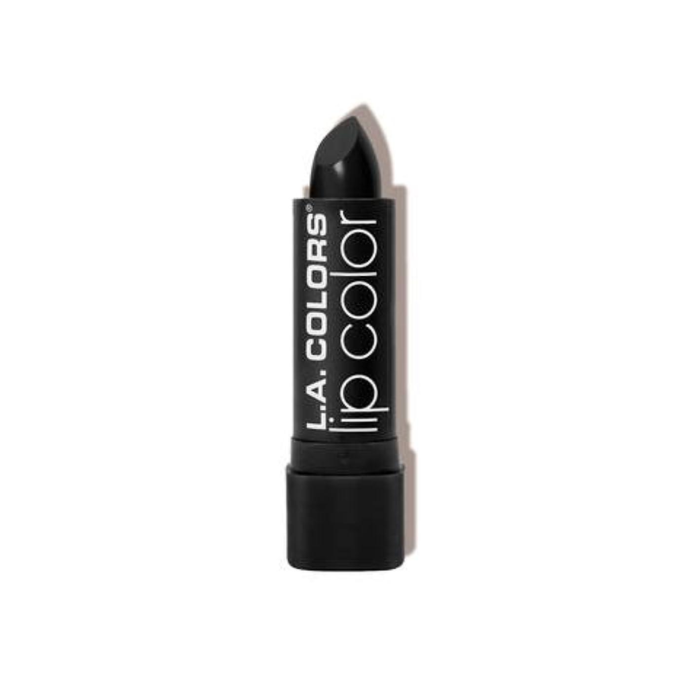 アレルギーバブルペストL.A. COLORS Moisture Rich Lip Color - Black Velvet (並行輸入品)