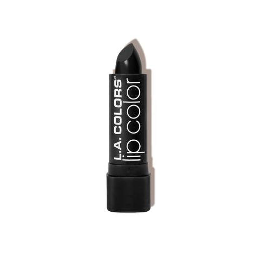 ましいメタンジレンマL.A. COLORS Moisture Rich Lip Color - Black Velvet (並行輸入品)
