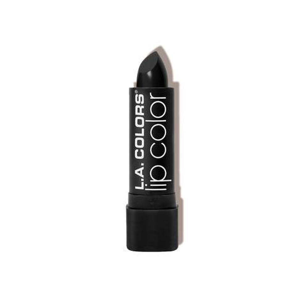 家誰がスローL.A. COLORS Moisture Rich Lip Color - Black Velvet (並行輸入品)