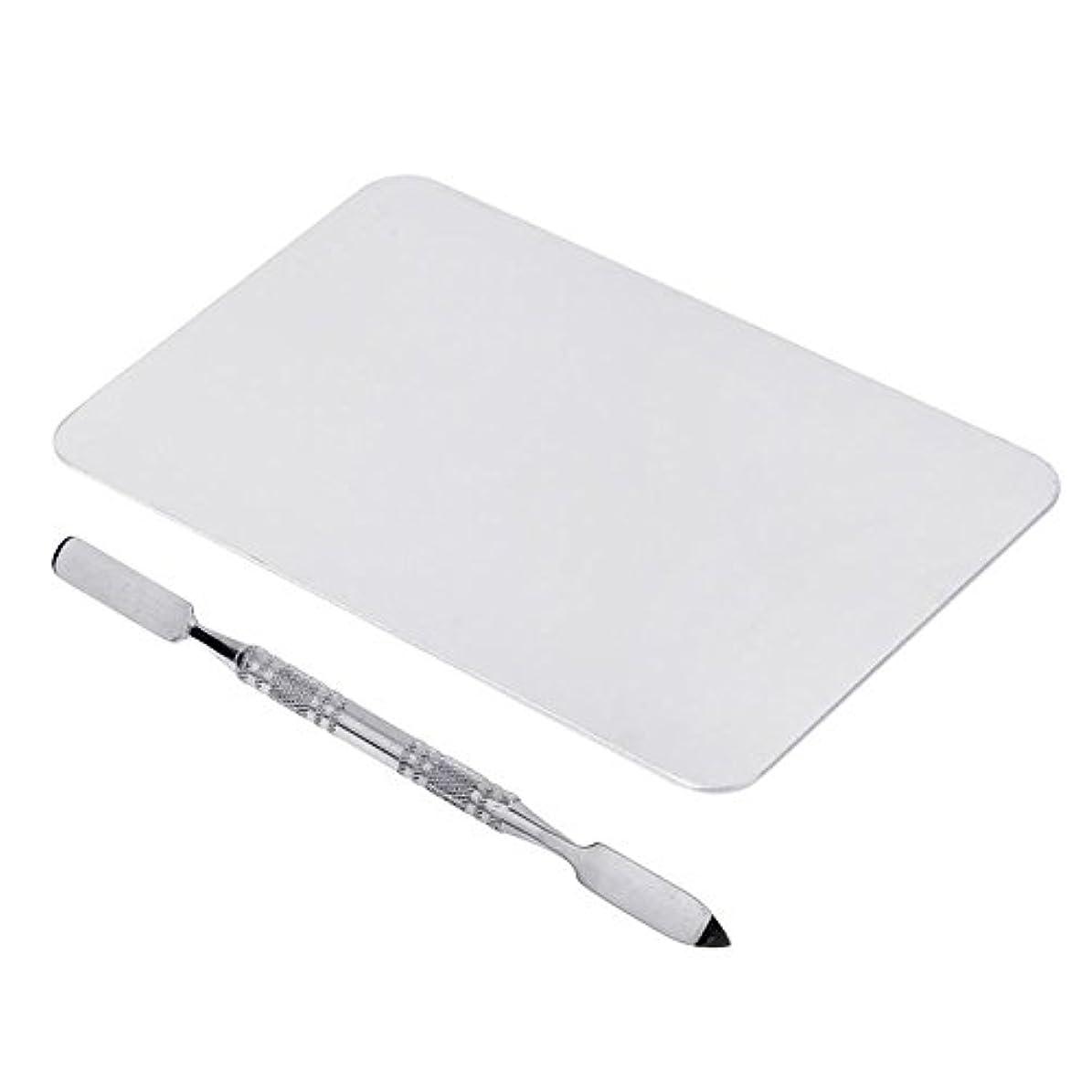 けがをするあまりにもテーブルSODIAL 2色のメイクパレットマニキュア、メイクアップ、アイシャドウパレットパレットセット12cm