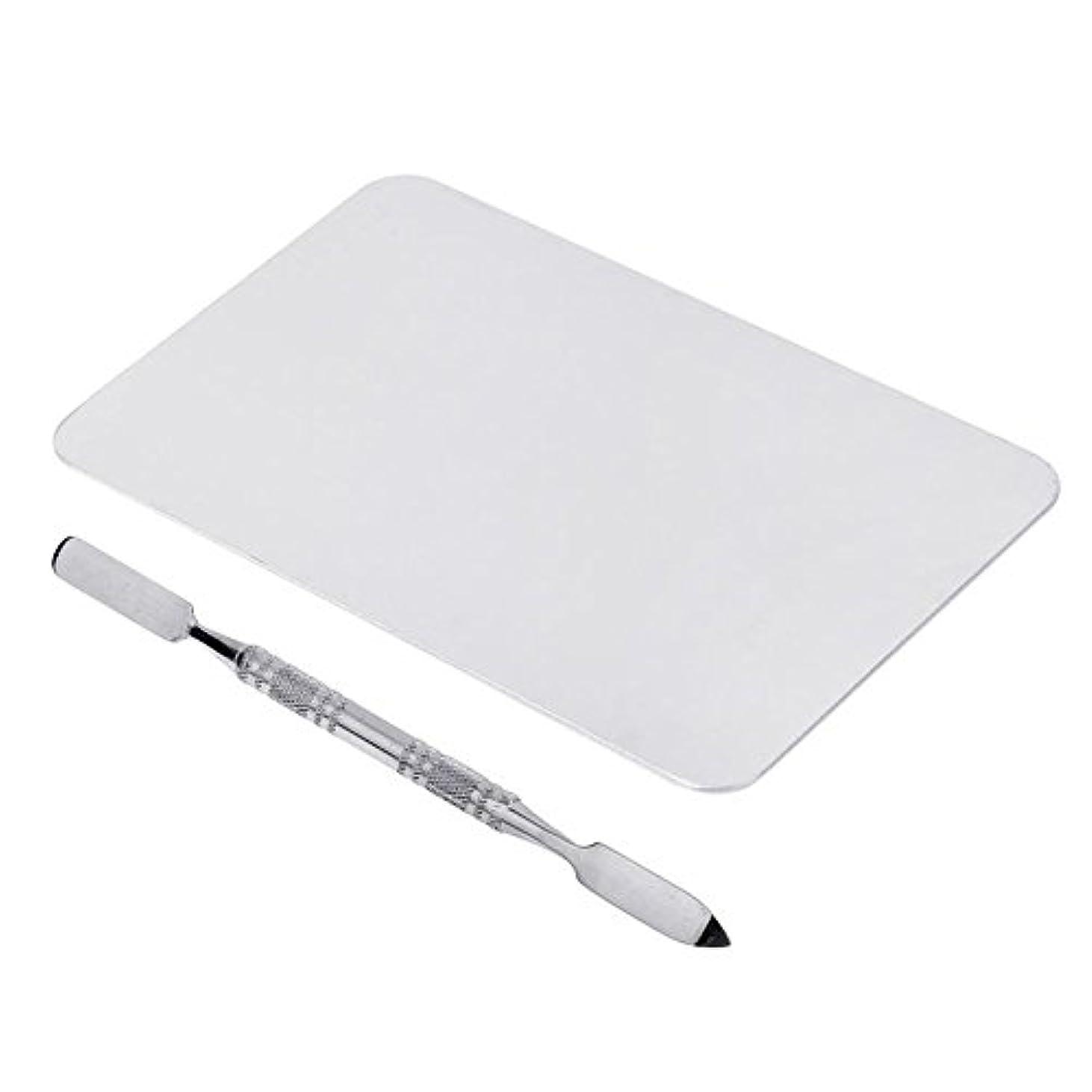 解任無謀安心させるGaoominy 2色のメイクパレットマニキュア、メイクアップ、アイシャドウパレットパレットセット12cm