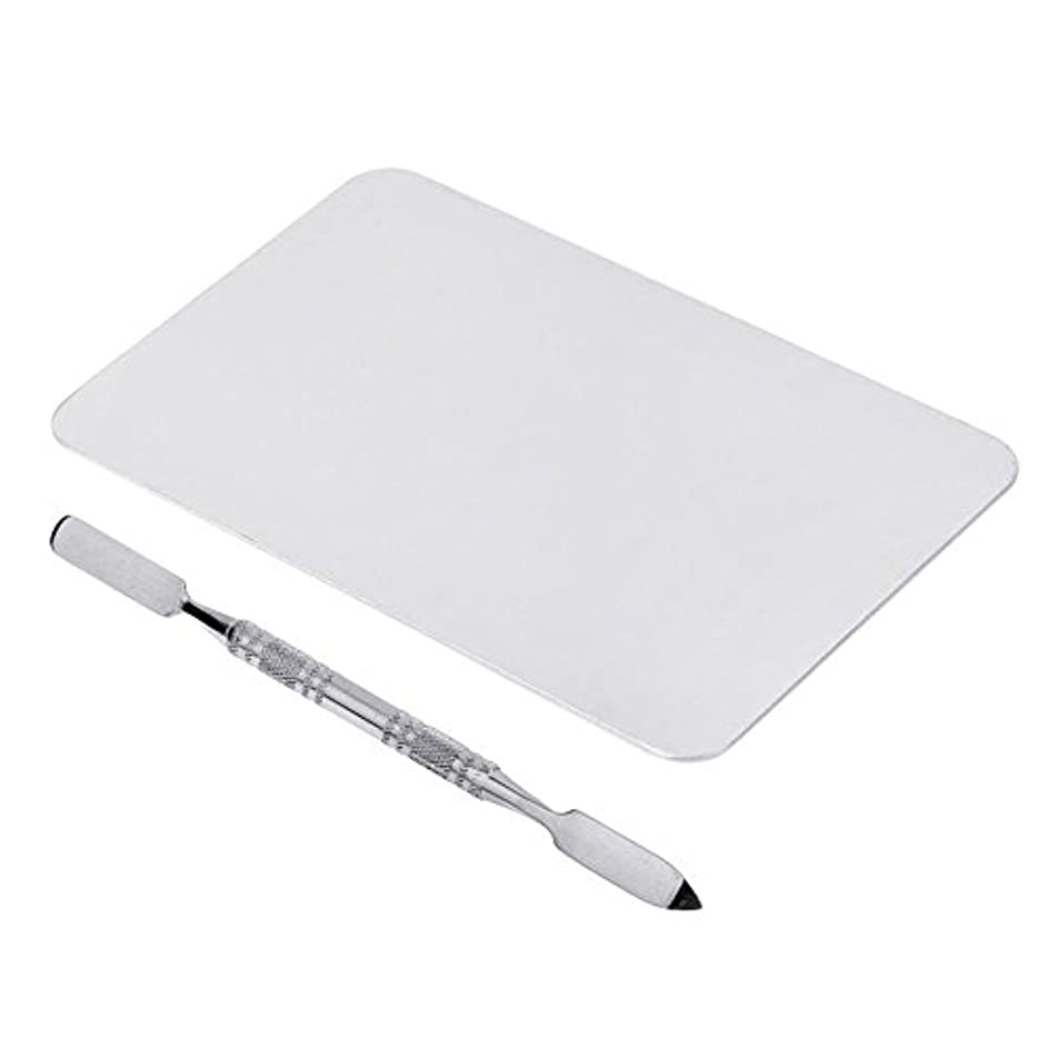 真空驚いた同意SODIAL 2色のメイクパレットマニキュア、メイクアップ、アイシャドウパレットパレットセット12cm