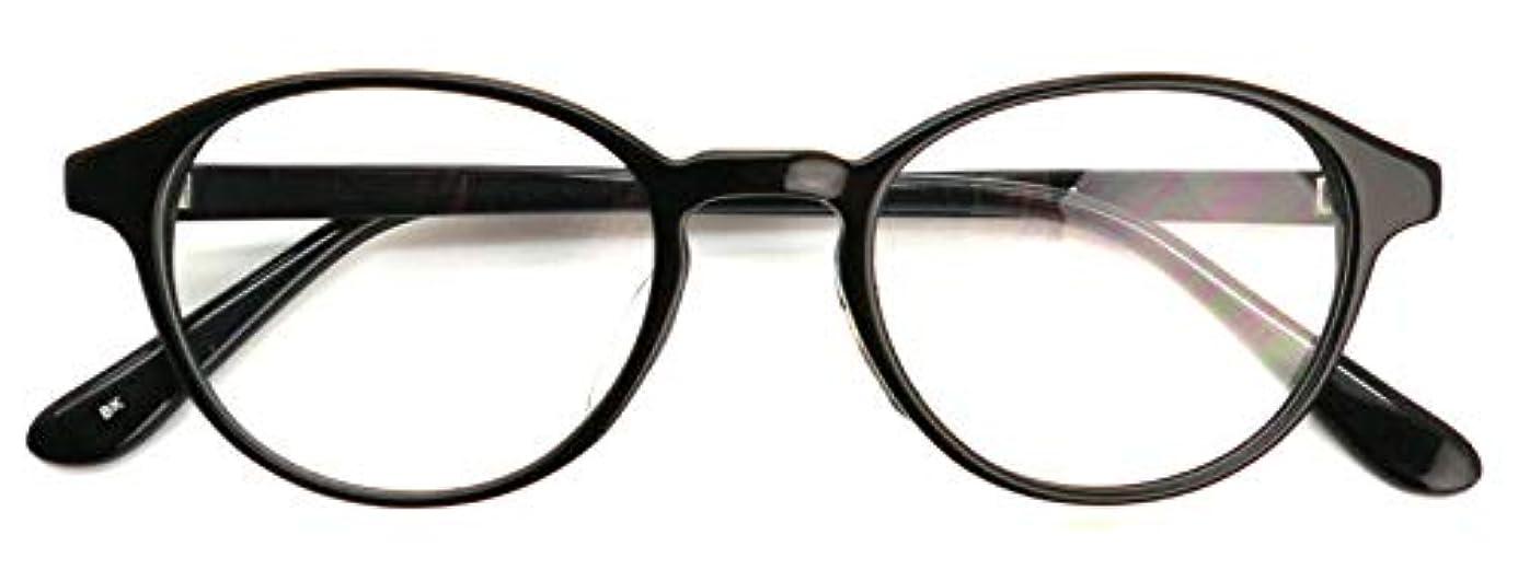 発火するミリメーターミサイルSHOWA (RSN) ボストン 遠近両用 メガネ (ブラック)(メンズセット) 全額返金保証 老眼鏡 リーディンググラス 眼鏡 (瞳孔距離:男性平均62mm~64mm, 近くを見る度数:+1.5)