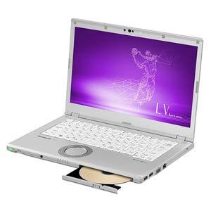 14.0型 ノートパソコン Let's note LVシリーズ シルバーLet's 2019年 夏モデル(Core i5/メモリ 16GB/SSD 256GB/Office H&B 2019) CF-LV8KDPQR パナソニック(Panasonic) Panasonic CFLV8KDPQR