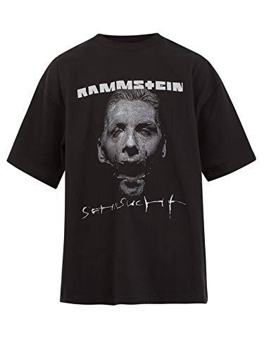 半袖Tシャツ カットソー VETEMENTS キャンペーンロゴ Rammstein ヴェトモン ラムシュタイン サイズM