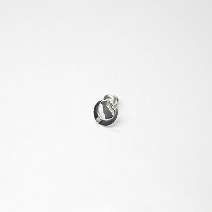 擬人化アラブ人ラップトップ[グッドバイブレーション] good vibrations キャット&ムーンピアス シルバーアクセサリー(GVER10)