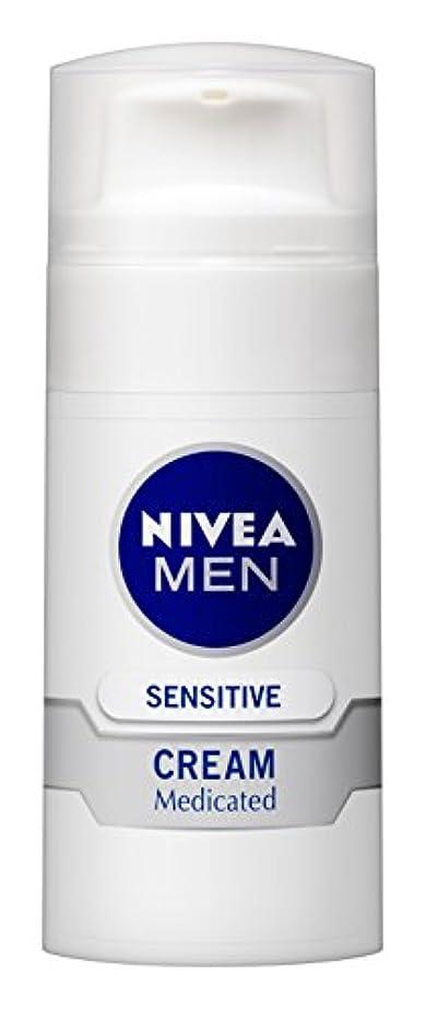 ヨーロッパ大混乱請求可能ニベアメン センシティブクリーム 50g 男性用 クリーム