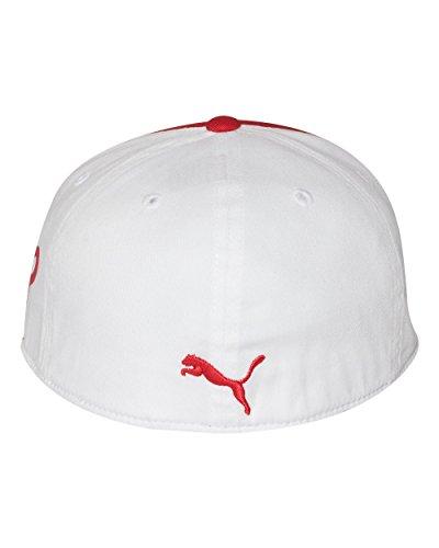 アメリカ版Puma(プーマ)モノラインMonolineキャップ帽子210-赤レッド [並行輸入品]