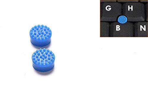 トラックポイント 2個入 適用する ノートパソコン Dell デル ブルー