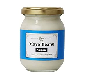 ナチュラルファーマーズ マヨビーンズ プレーン 200g 瓶 ビーガン 植物性マヨビーンズ トランス脂肪酸ゼロ