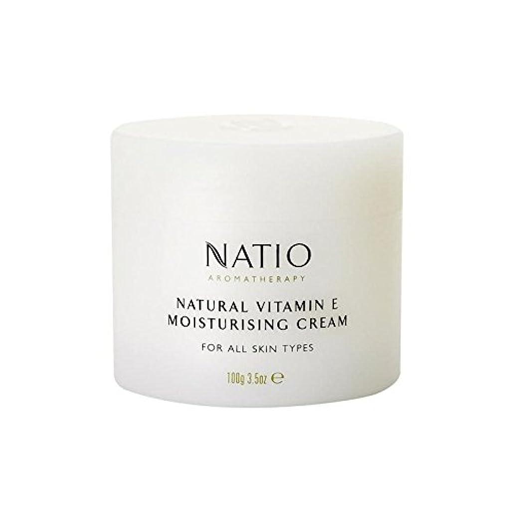 スーツケースキャンパス賛辞[Natio] Natio天然ビタミンEの保湿クリーム(100グラム) - Natio Natural Vitamin E Moisturising Cream (100G) [並行輸入品]