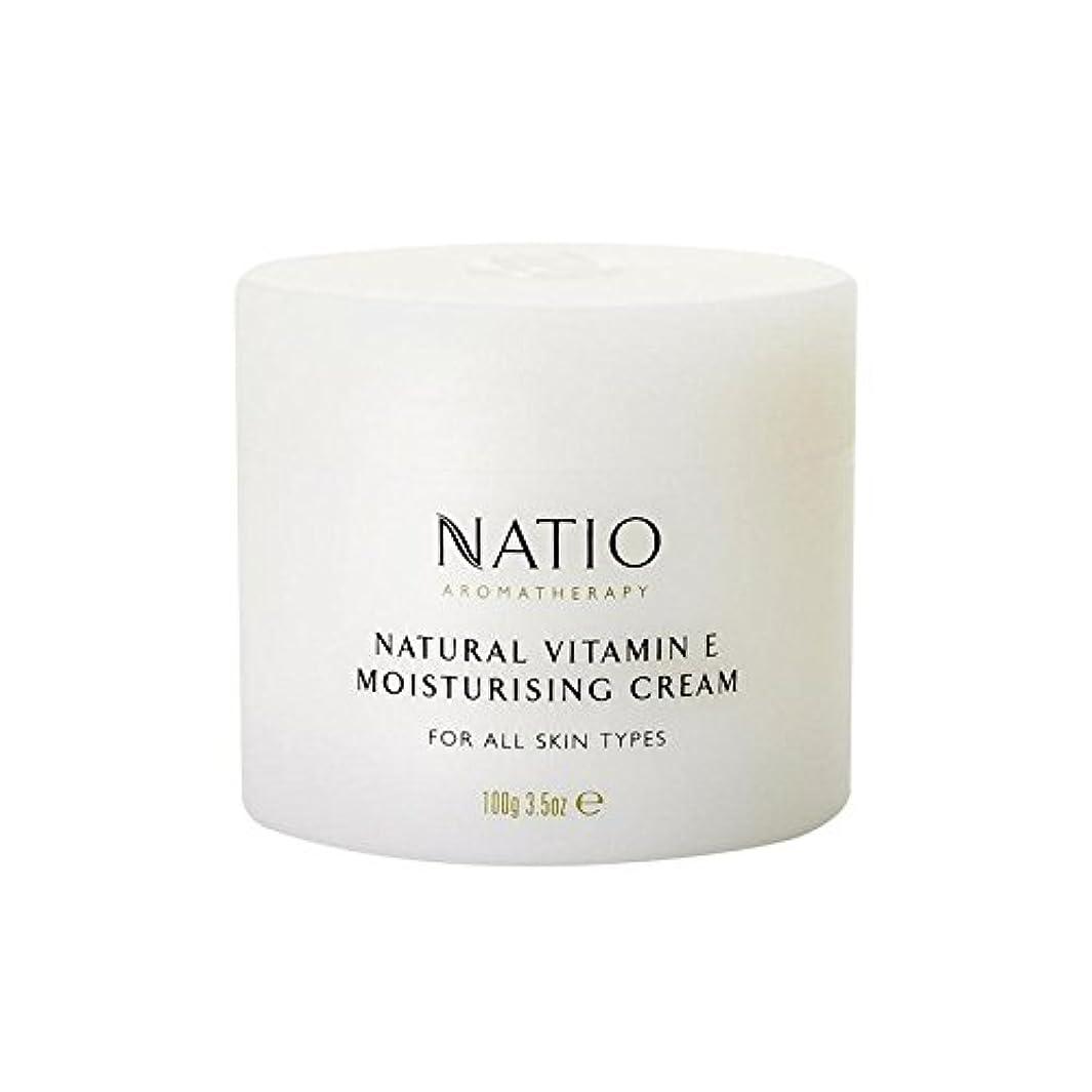 現金独占タフ[Natio] Natio天然ビタミンEの保湿クリーム(100グラム) - Natio Natural Vitamin E Moisturising Cream (100G) [並行輸入品]