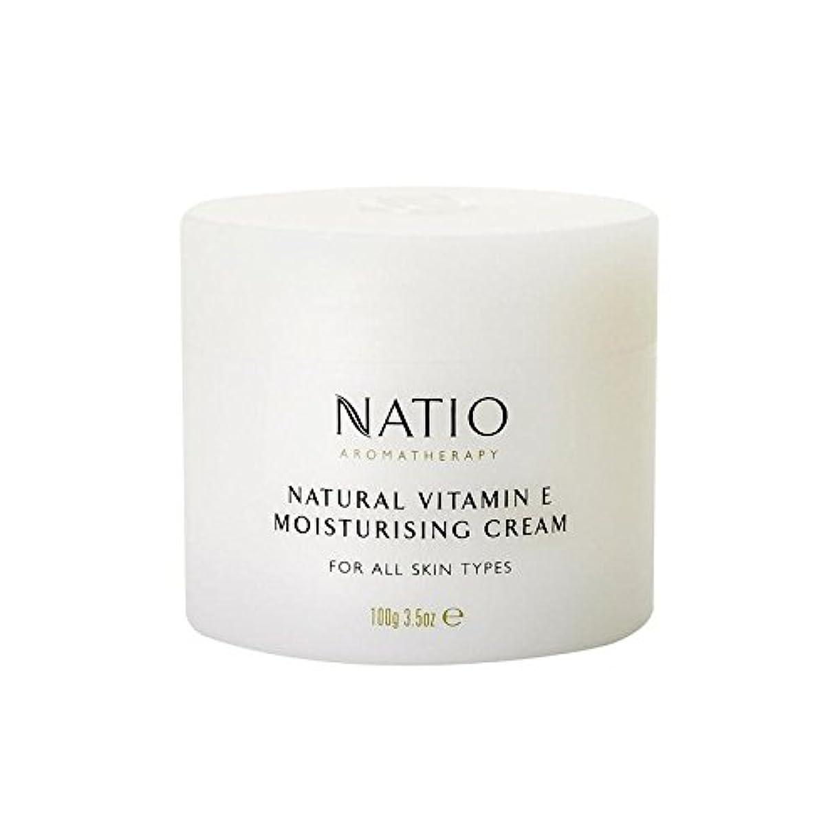 納得させる十分追い払う[Natio] Natio天然ビタミンEの保湿クリーム(100グラム) - Natio Natural Vitamin E Moisturising Cream (100G) [並行輸入品]