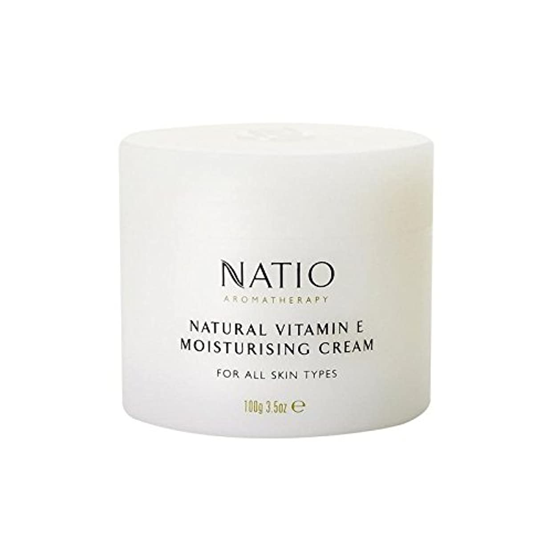 運搬バスタブトラップ[Natio] Natio天然ビタミンEの保湿クリーム(100グラム) - Natio Natural Vitamin E Moisturising Cream (100G) [並行輸入品]