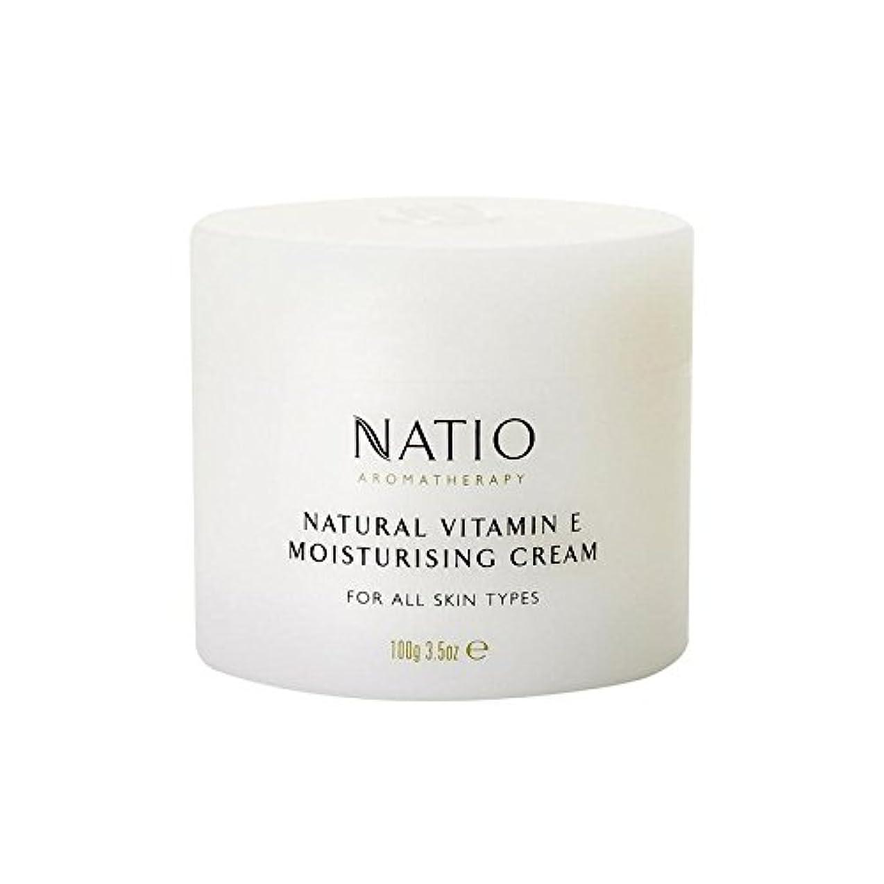 想定アルミニウム効能[Natio] Natio天然ビタミンEの保湿クリーム(100グラム) - Natio Natural Vitamin E Moisturising Cream (100G) [並行輸入品]
