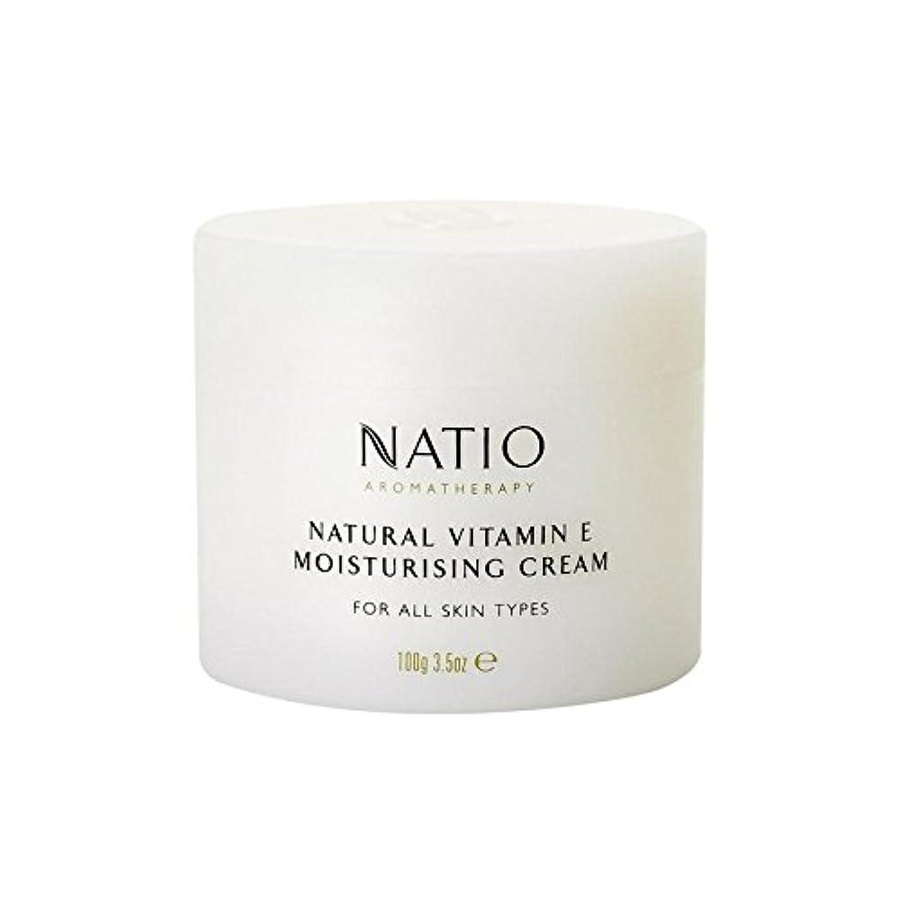 シーフード影響するアナリスト[Natio] Natio天然ビタミンEの保湿クリーム(100グラム) - Natio Natural Vitamin E Moisturising Cream (100G) [並行輸入品]