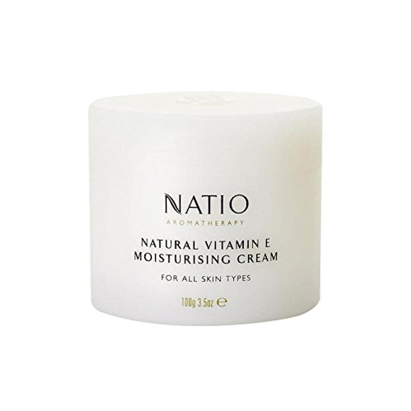 聡明暴動遊びます[Natio] Natio天然ビタミンEの保湿クリーム(100グラム) - Natio Natural Vitamin E Moisturising Cream (100G) [並行輸入品]