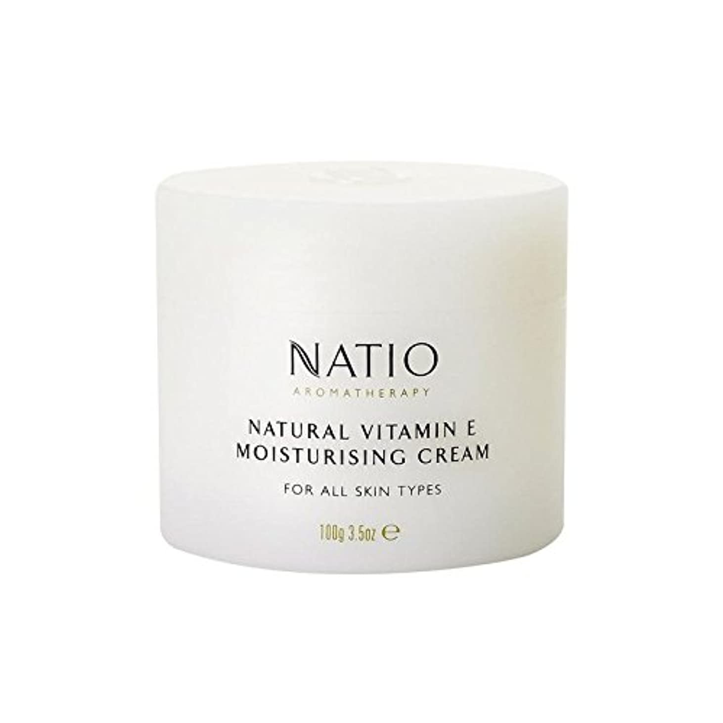 さわやか神社憧れ[Natio] Natio天然ビタミンEの保湿クリーム(100グラム) - Natio Natural Vitamin E Moisturising Cream (100G) [並行輸入品]