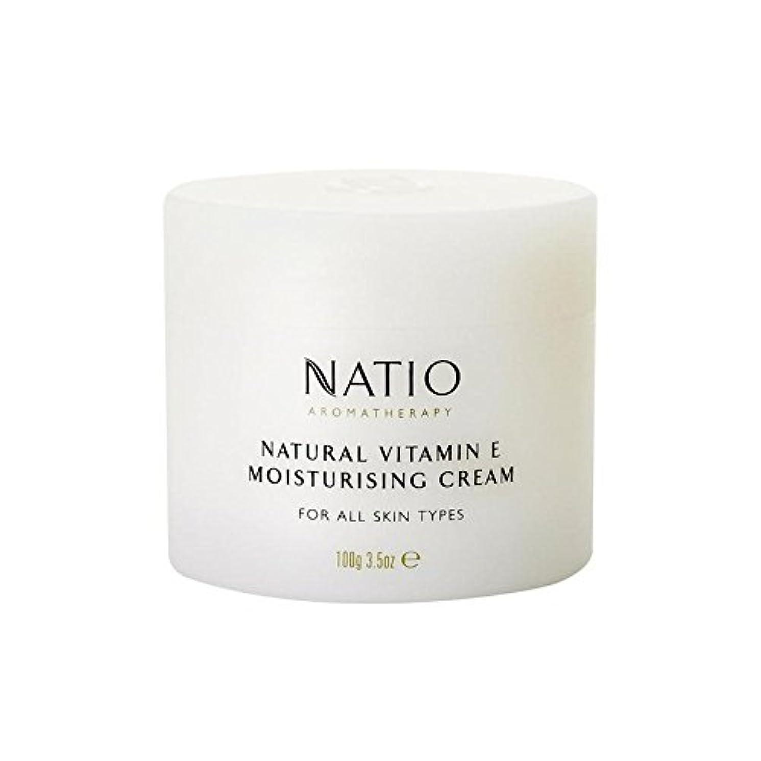 リーチ弱点進化する[Natio] Natio天然ビタミンEの保湿クリーム(100グラム) - Natio Natural Vitamin E Moisturising Cream (100G) [並行輸入品]