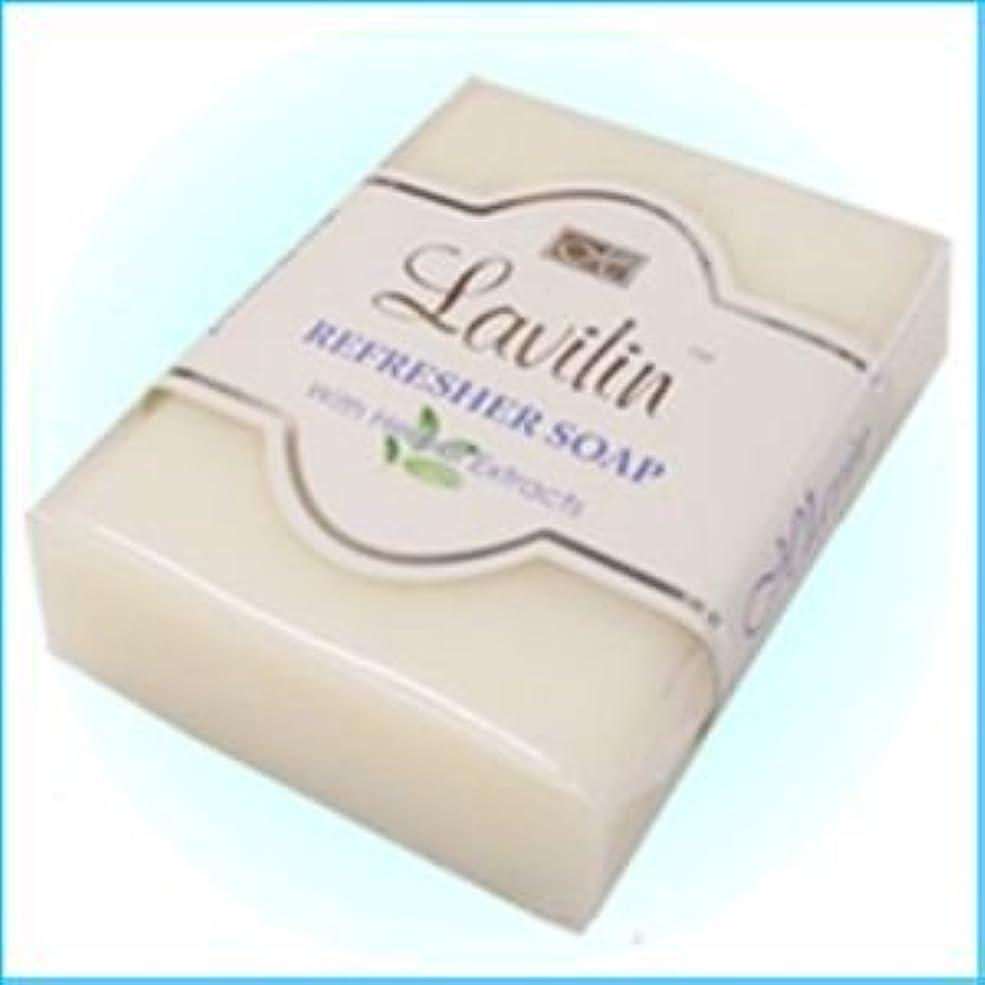 負湿気の多い受信機ラヴィリン 消臭せっけん 新リフレッシャーソープ(Lavilin REFRESHER SOAP)