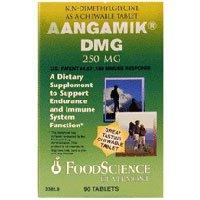 海外直送品Foodscience Of Vermont Aangamik DMG, Chewable 90 Tabs 250 MG(Pack of 2)
