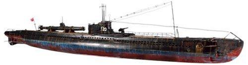 リンドバーグ 1/72 日本海軍 伊号第20潜水艦 w/特殊潜航艇 甲標的