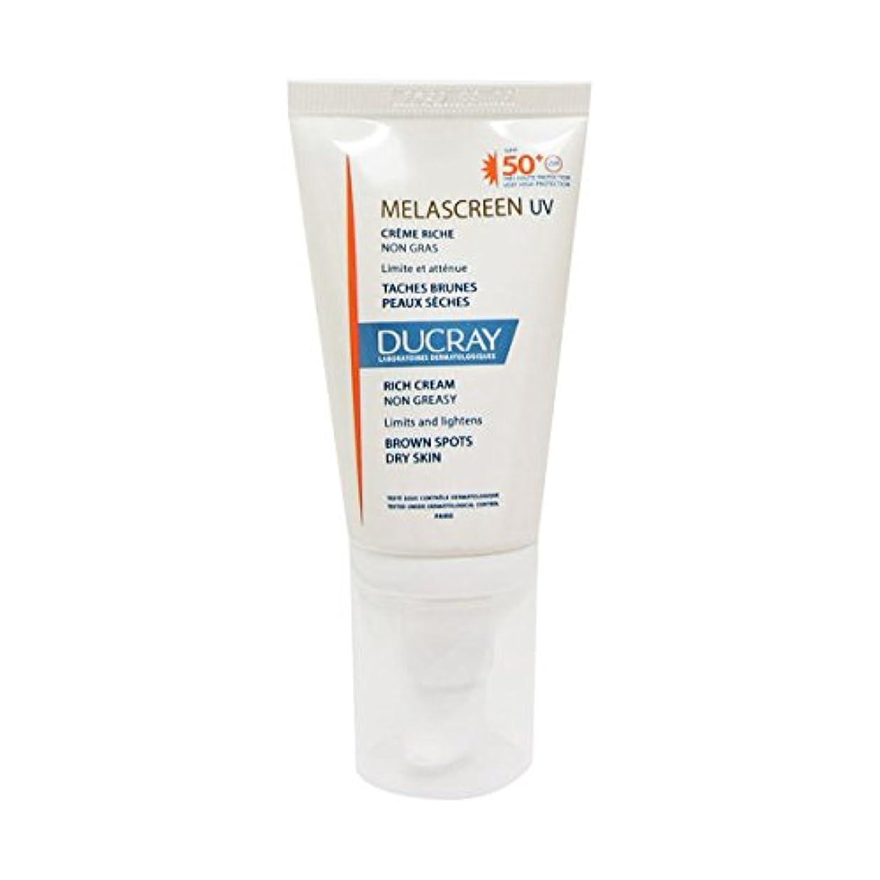 活発バーベキュー乳剤Ducray Melascreen Rich Cream Spf 50+ 40ml [並行輸入品]