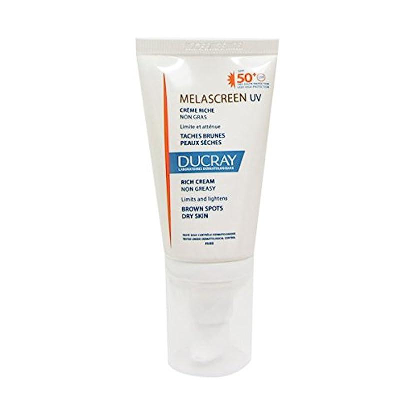可塑性手がかり仕立て屋Ducray Melascreen Rich Cream Spf 50+ 40ml [並行輸入品]