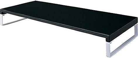 リヒトラブ 机上台 幅 590mm ×奥行 250mm × 高さ 80mm 黒 A7332-24