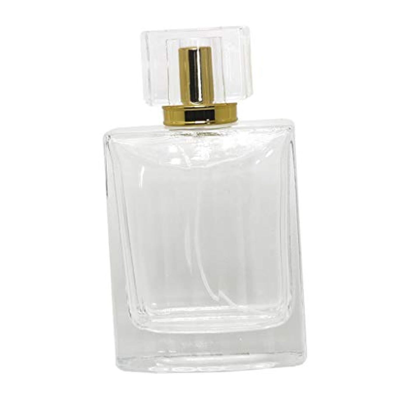 画面ラビリンス見せますノーブランド品  100ml  矩形 香水瓶 スプレーボトル アトマイザー 詰め替え 旅行携帯便利  - コー??ヒー