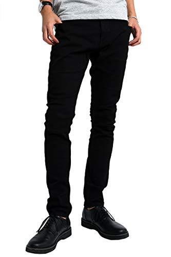 [インプローブス] チノパン インプローブス ストレッチ スリム スキニー カラーパンツ メンズ ブラック L サイズ 96560 日本 カジュアルパンツ (日本サイズL相当) [並行輸入品]