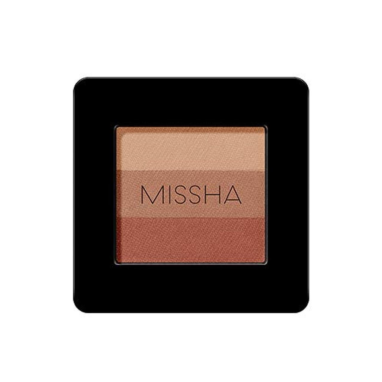 チョコレートスタンド荒廃するミシャ トリプルアイシャドウ2g / MISSHA TRIPLE SHADOW # 17 [並行輸入品]