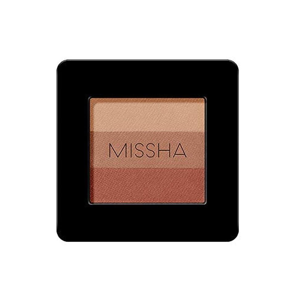 集中包帯記録ミシャ トリプルアイシャドウ2g / MISSHA TRIPLE SHADOW # 17 [並行輸入品]
