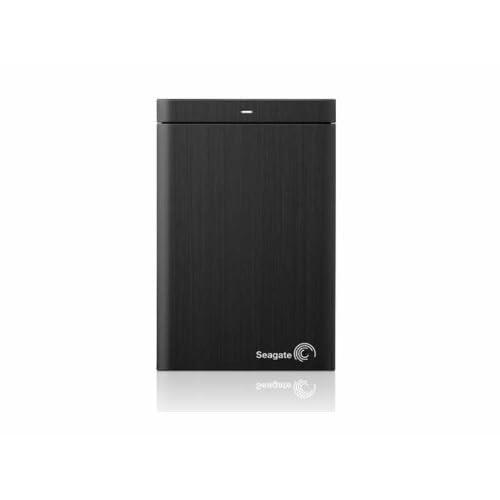 Seagate Backup Plus シーゲイト バックアッププラス 1 TB USB 3.0 Portable External Hard Drive /Black/黒/ポータブル外付けハードディスクドライブ STBU1000100/ 並行輸入品/大容量/PC/MAC/