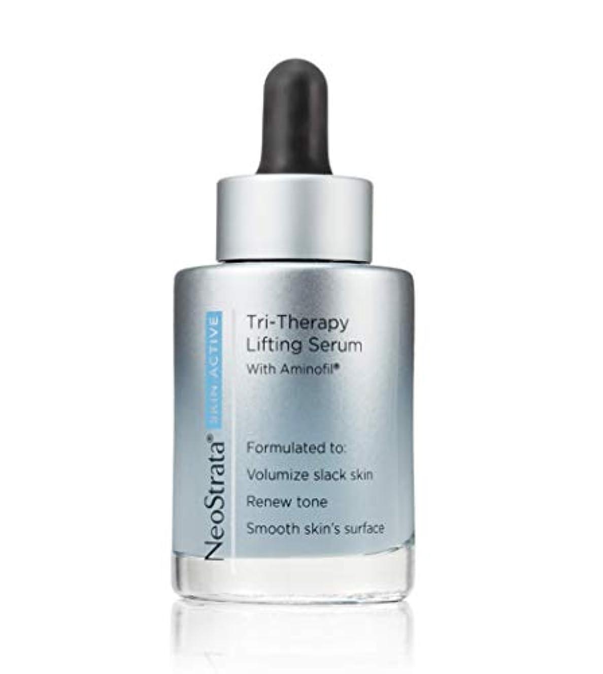 骨髄埋め込むそこネオストラータ Skin Active Tri-Therapy Lifting Serum With Aminofil 30ml/1oz並行輸入品
