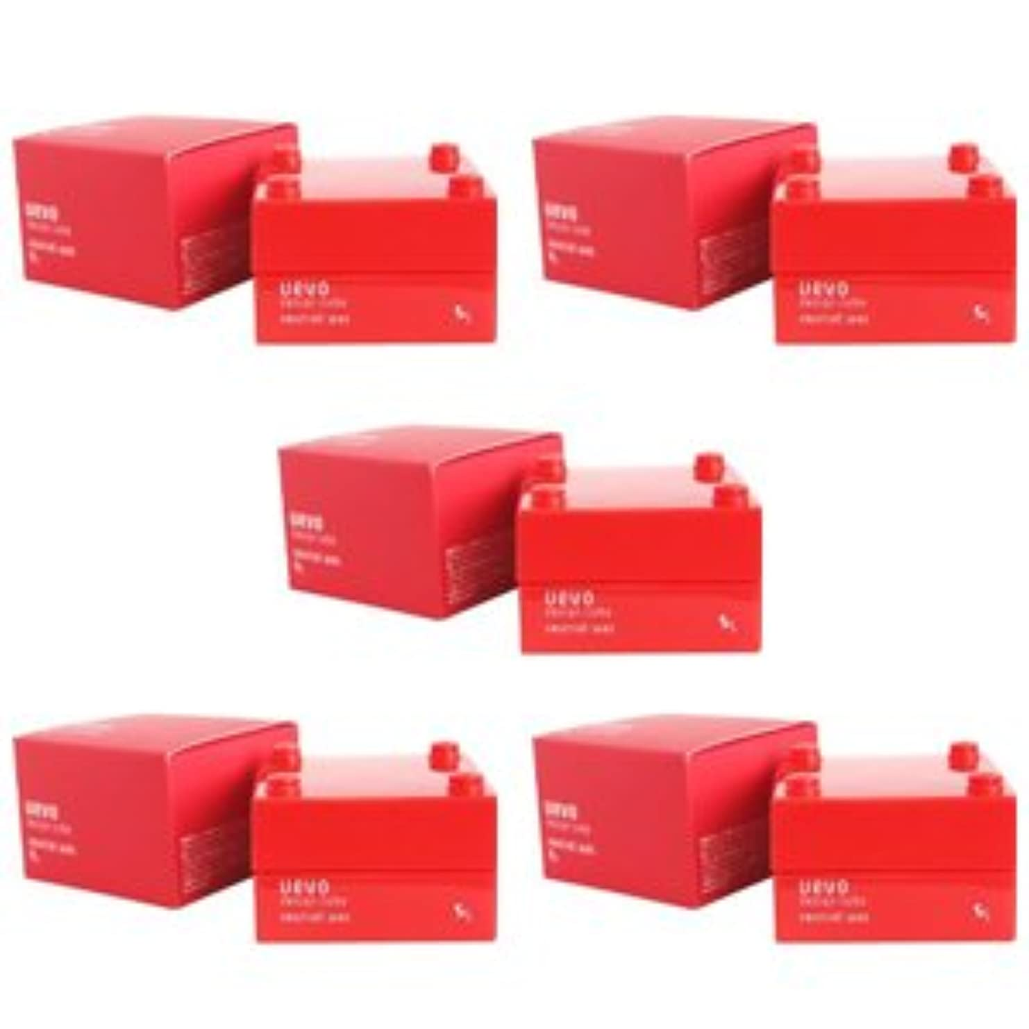 フォルダ苦悩スムーズに【X5個セット】 デミ ウェーボ デザインキューブ ニュートラルワックス 30g neutral wax DEMI uevo design cube