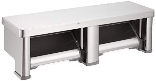 TOTO 二連紙巻器 棚付き ステンレス ステンレス製 マット YH701