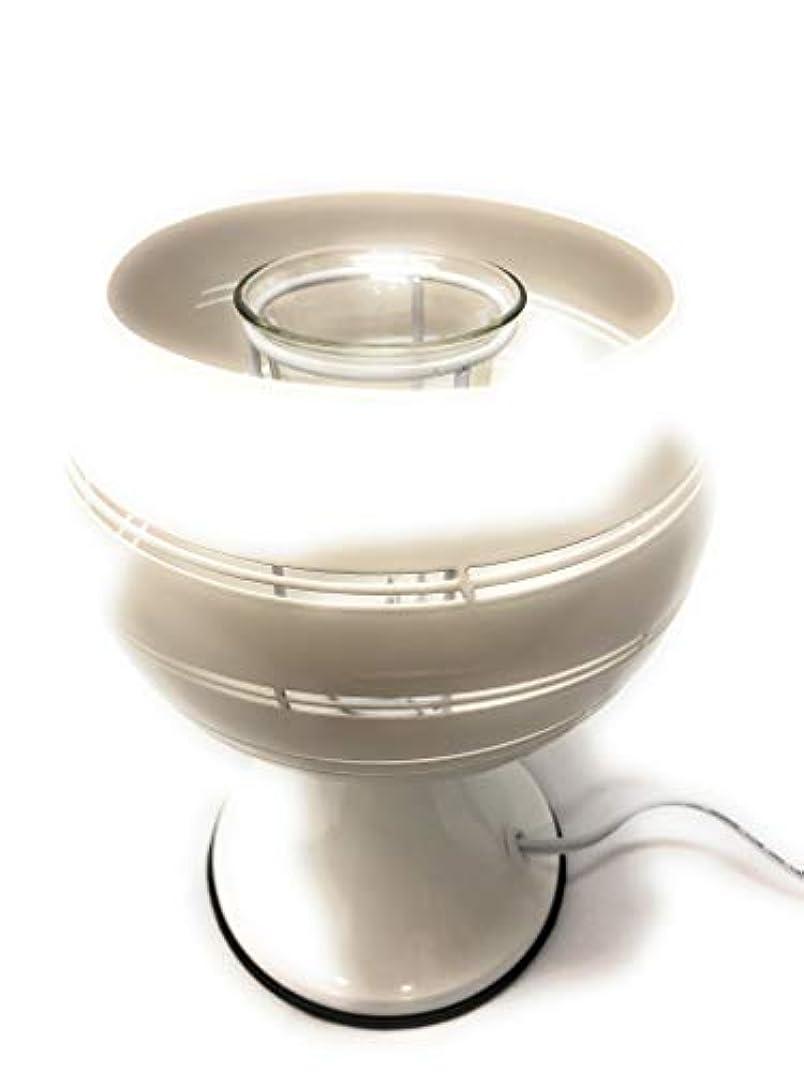一時停止全部雷雨Electricアロマランプまたは香りBurner with 35 Wハロゲン電球、非表示ボウル&ディマースイッチ。