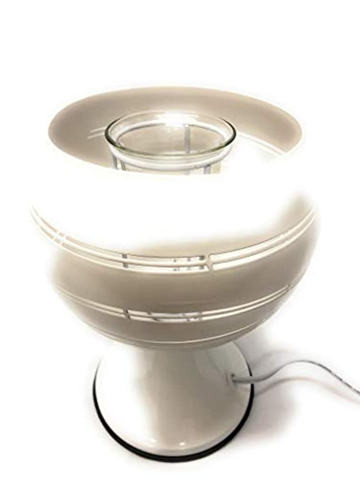人形敬礼確認Electricアロマランプまたは香りBurner with 35 Wハロゲン電球、非表示ボウル&ディマースイッチ。