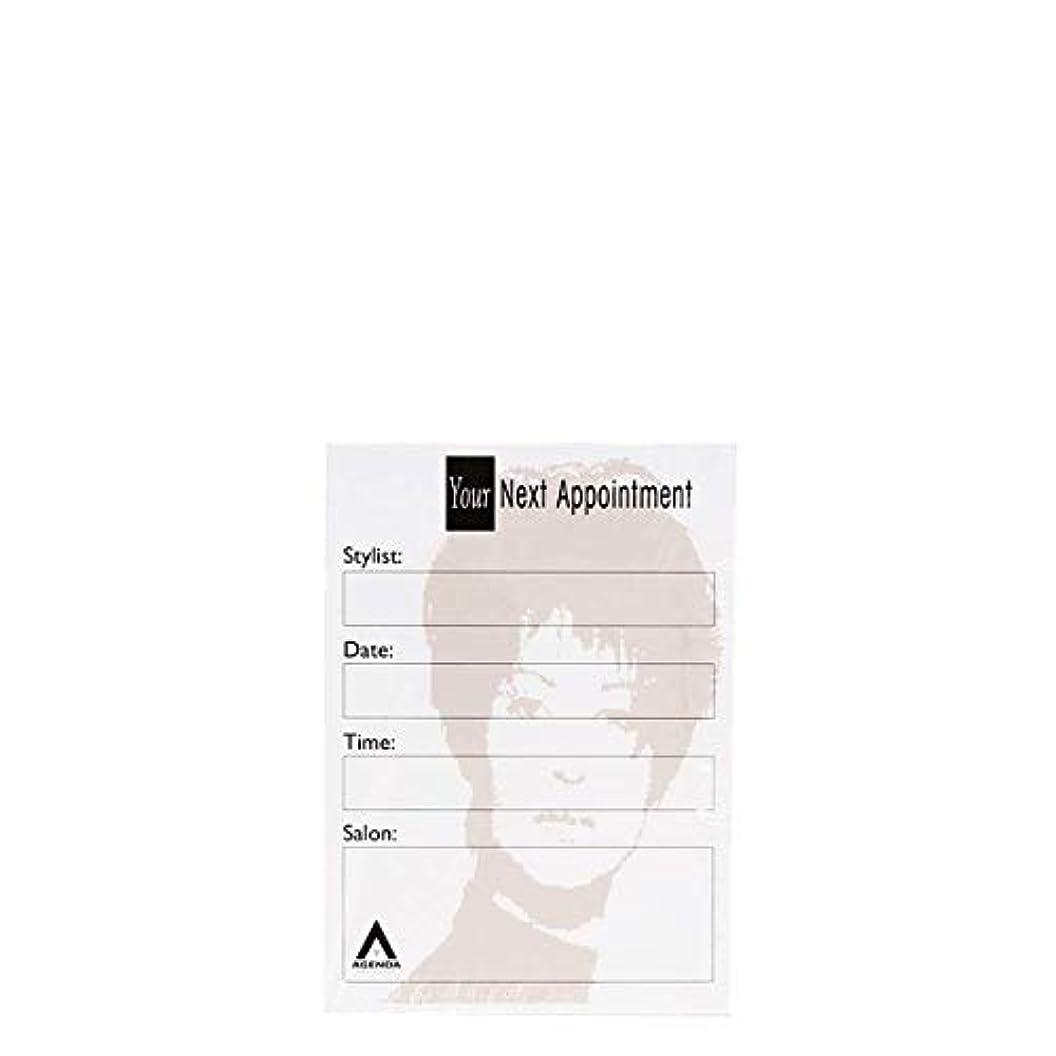 アジェンダ サロンコンセプト ネイルアポイントメントカードAP2 x100[海外直送品] [並行輸入品]