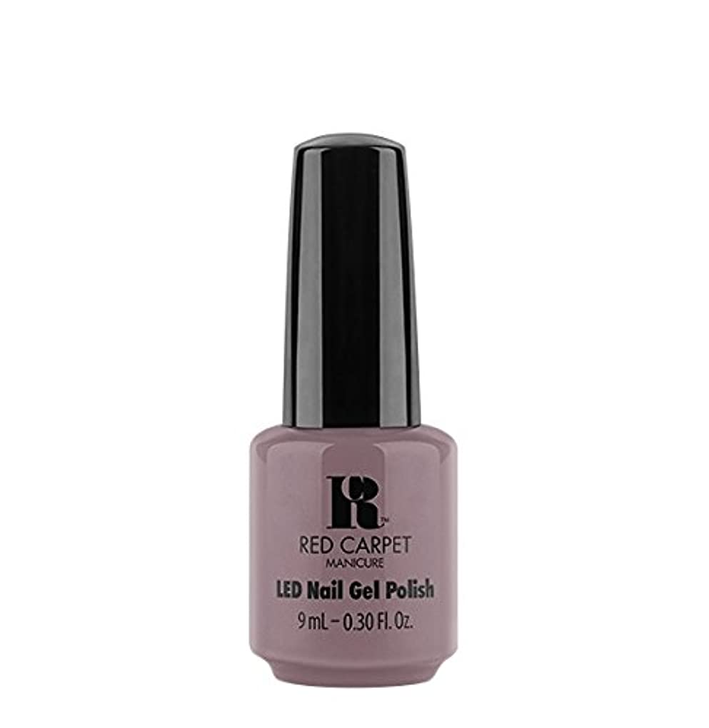 才能のある脈拍評論家Red Carpet Manicure LED Gel Polish - Skirting Around - 9 ml/0.30 oz