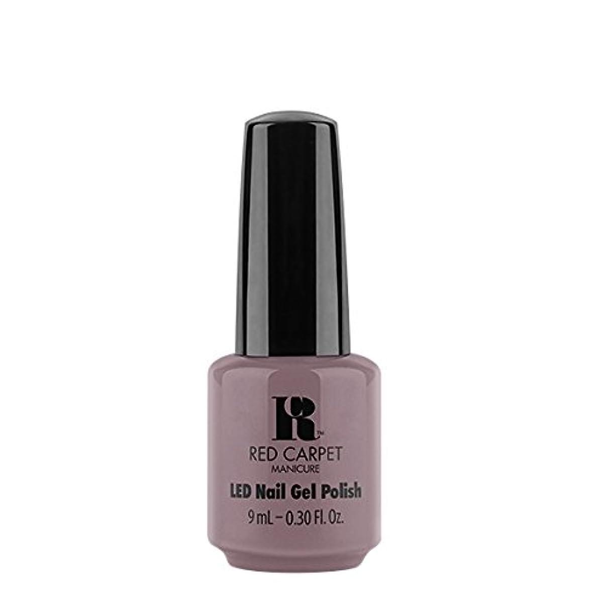 調停者ホーム労働Red Carpet Manicure LED Gel Polish - Skirting Around - 9 ml/0.30 oz
