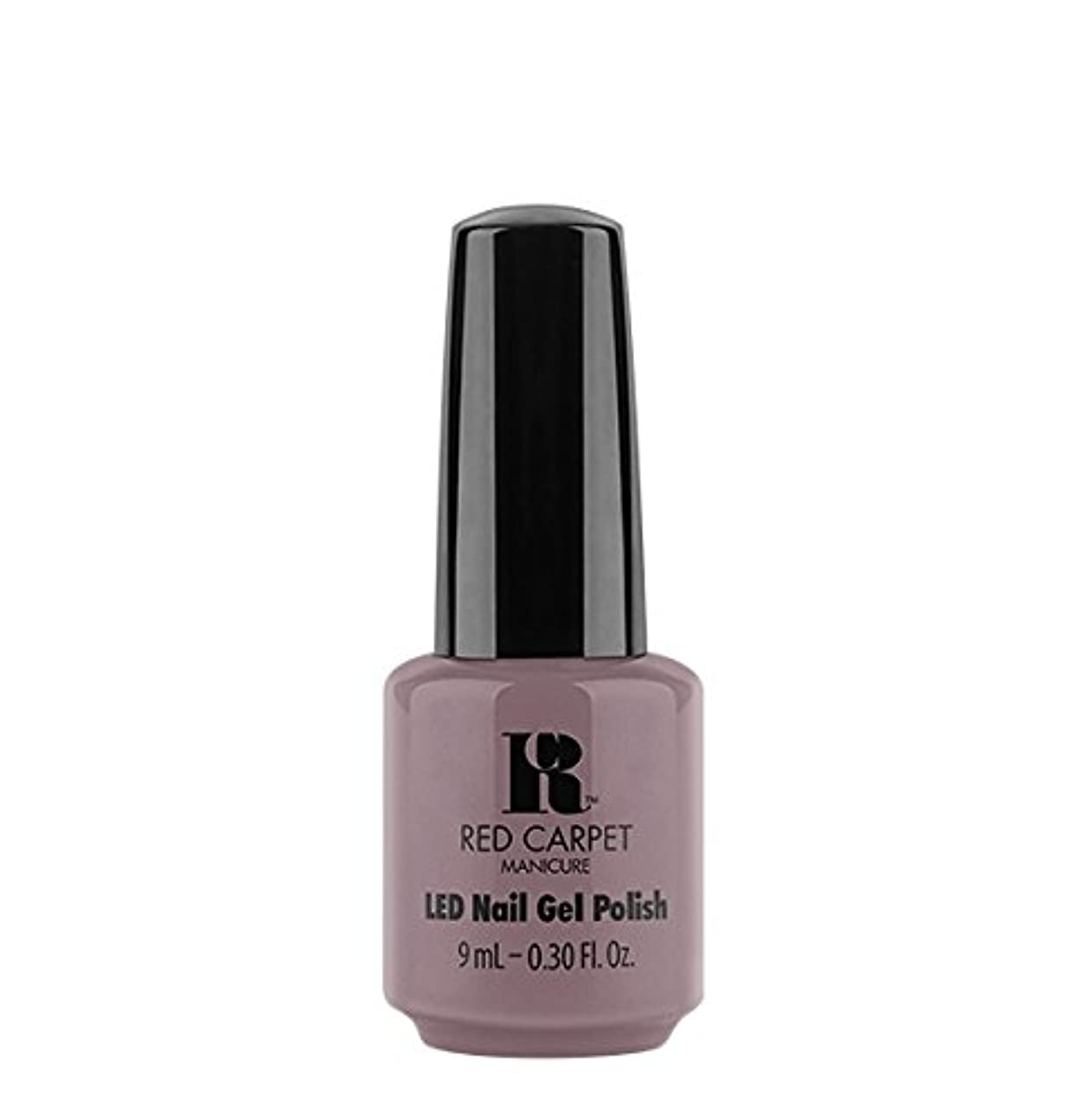 ベックス状リテラシーRed Carpet Manicure LED Gel Polish - Skirting Around - 9 ml/0.30 oz