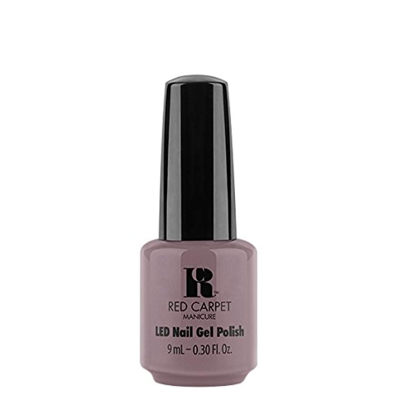 大きさ忌避剤降雨Red Carpet Manicure LED Gel Polish - Skirting Around - 9 ml/0.30 oz