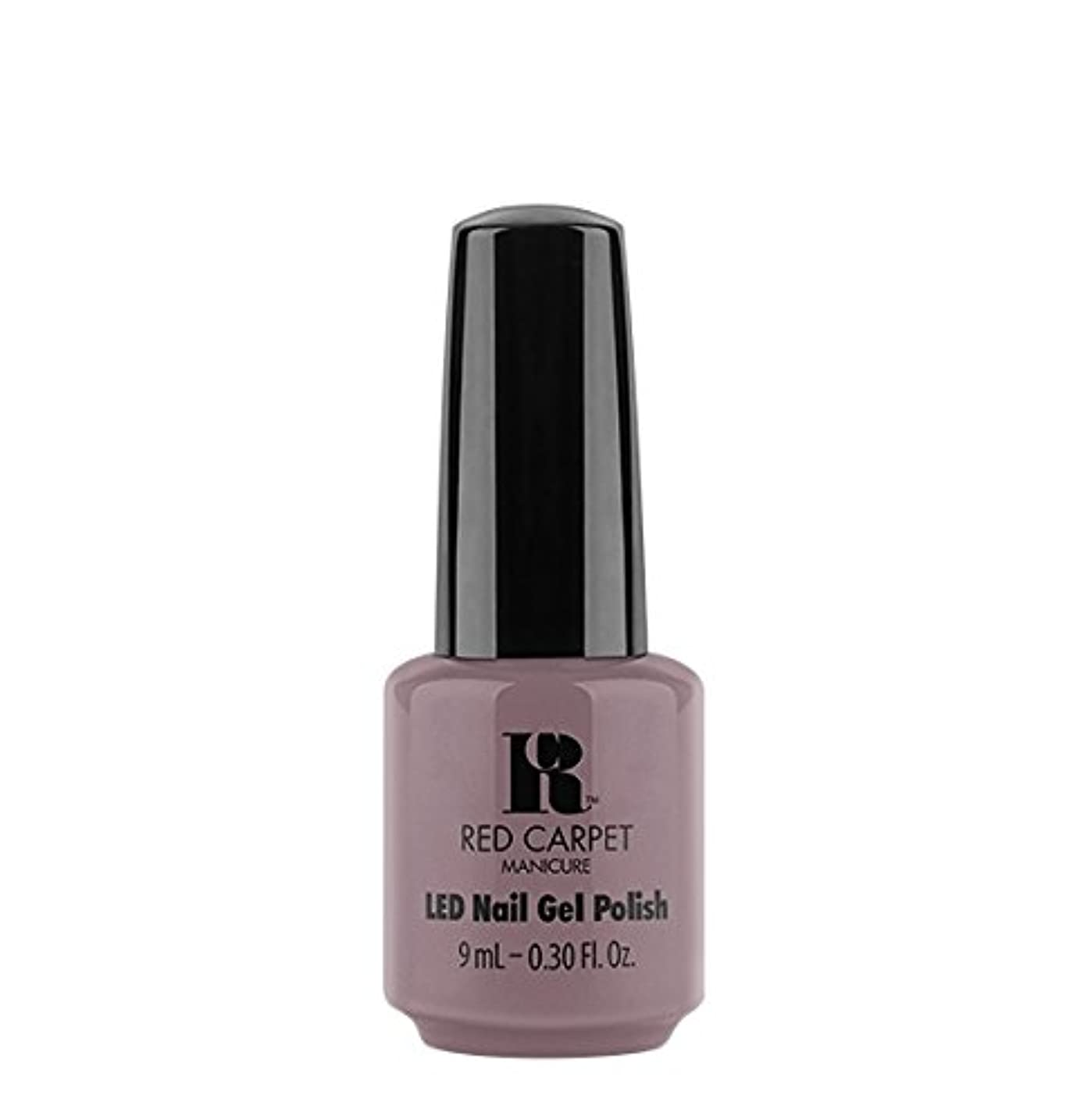 抜け目のない北東宇宙のRed Carpet Manicure LED Gel Polish - Skirting Around - 9 ml/0.30 oz
