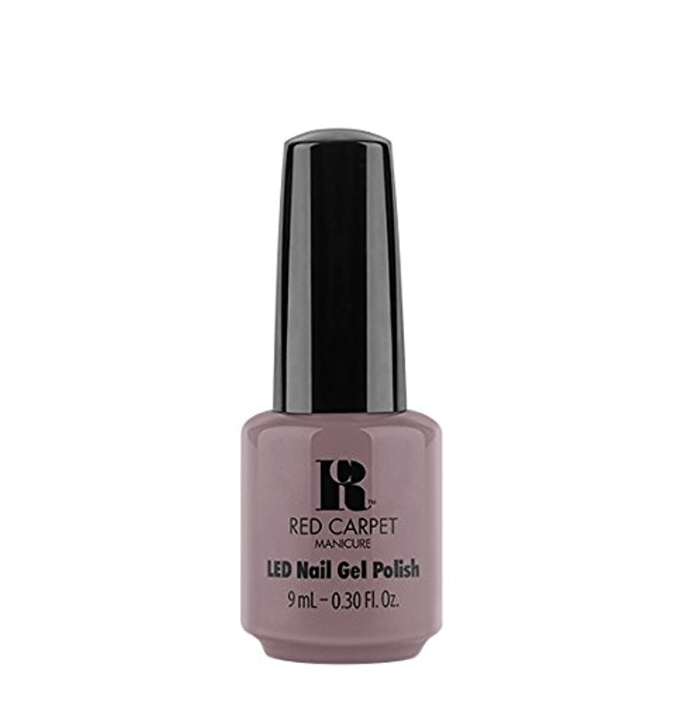 テーブルを設定するカセット複製Red Carpet Manicure LED Gel Polish - Skirting Around - 9 ml/0.30 oz